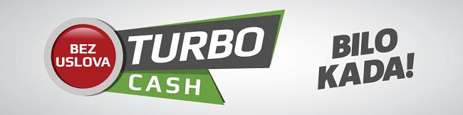 turbo cash - cash out opcija Meridianbet